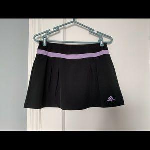 Adidas Climalite Sport Skort Black+ Purple Small